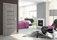 DVEŘE: Laminované dveře SYDNEY ALU s ozdobnou hliníkovou lištou | SIKO Divider, Sydney, Room, Furniture, Home Decor, Bedroom, Decoration Home, Room Decor, Rooms