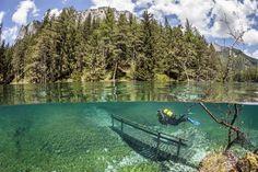 lago, Áustria Este Lago Se Transforma Num Mundo Encantado!