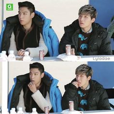 TODAE, Do exactly same things at the exact same time 😄😗😚👻👼 🍼🍼🌱💕💕 #탑성 #todae #top #daesung #대성 #강대성 #kangdaesung #dlite #テソン #탑 #최승현 #タプ #タプテソ #choiseunghyun #choiseunghyuntttop #たぷ #tttop #topdae #gdragon #youngbae #seungri #bigbang #imisstodae😢