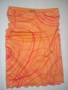 canotta Golden Lady colore arancione TAGLIA UNICA