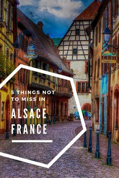 Alsace is the eastern region of France. This amazing region full of wine, produce, and fairytale type towns is a must visit region.