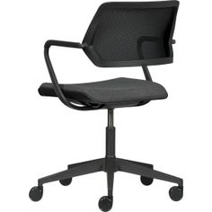 Steelcase® QiVi™ Office Chair in Office Chairs | Crate and Barrel