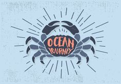 Shop Ocean Journey Postcard created by NappingOnTheBeach. Personalize it with photos & text or purchase as is! Winery Logo, Crab Illustration, Kids Prints, Clipart, Postcard Size, Pixel Art, Art Inspo, Vector Art, Paper Texture
