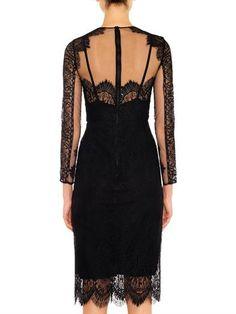 Freda Long-sleeved lace dress