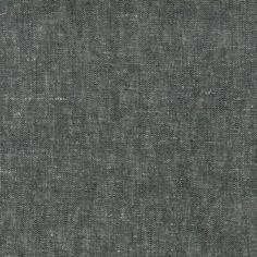 Brussels Washer, Yarn Dyed Black fra Robert Kaufman