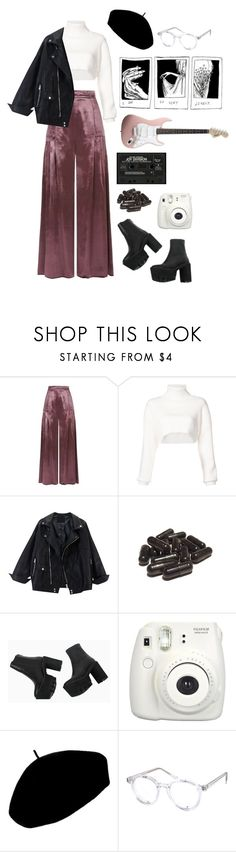"""there's a honey"" by thishazyheadofmine on Polyvore featuring Temperley London, Alexandre Vauthier, Fujifilm, Betmar and Spitfire"
