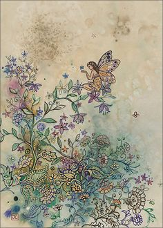 BugArt Paper & Foil ~ Golden Fairy. PAPER & FOIL Designed by Jane Crowther.