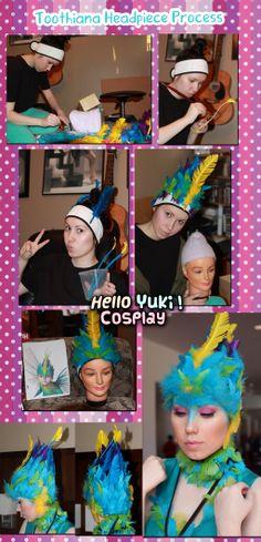 Toothiana, Tooth Fairy Queen: Headpiece Process by PandaP00rn.deviantart.com on @deviantART
