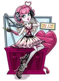 Monster high/ Ever after high Cupid Arte Monster High, Monster High Wiki, Monster High School, Love Monster, Monster High Dolls, Monster Art, History Cartoon, Cartoon Art, Cartoon Characters