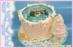 Sugar Mur: Tarta Frozen con Oblea