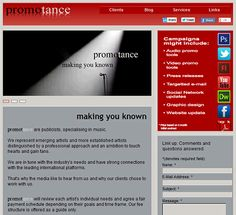 Our homepage, created by Tuzongo.com