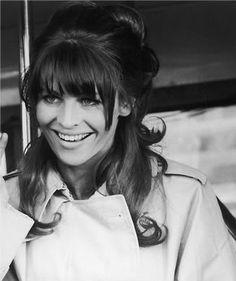 Julie Christie, '60's style.