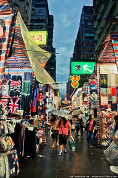 Ladies Market @ Mong Kok ( Hong Kong)