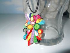 2012 pendants - my own original designs - Facebook.com/Zdenka Quilling