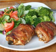 Bacon Wrapped Smoky Chicken (going to use chicken breasts instead of thighs)