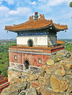 Tibetan Temple, Summer Palace, Beijing, China