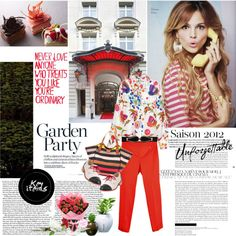 Garden Party - Spring 2012, created by ginevra-18 on Polyvore