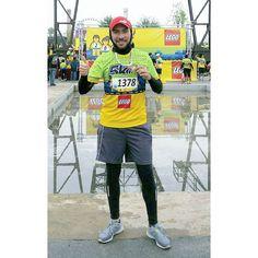 El frío no es excusa. #5kLego #reto12medallas #Medalla13 #run #runners #running #runmty #lego