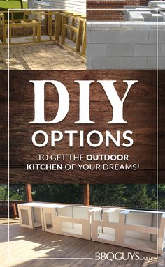 Thinking of building a DIY outdoor kitchen this summer? Designing and building your outdoor kitchen yourself saves you the cost of hiring a professional and gives you complete control over the design. Whether you decide to build it yourself or go with a pre assembled BBQ Island, the experts at BBQGuys show you the most popular DIY options to get the outdoor kitchen of your dreams!