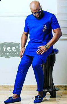 African Dresses Men, African Attire For Men, African Clothing For Men, African Wear, Nigerian Men Fashion, African Print Fashion, African Print Jumpsuit, Kurta Men, Big Men Fashion