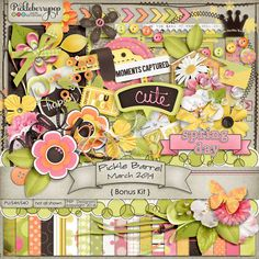 Pickle Barrel Bonus Kit - March 2014 GET it FREE with any $12 purchase during March 21-24 only