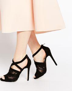 86a7cf80c3 AX Paris Ella Strappy Heeled Sandals at asos.com