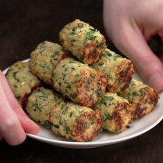 These Veggie Tots Are Healthy Ways To Snack On Game Day Veggie Tots 4 Ways, I have tried these, they are delicious. Veggie Tots 4 Ways, I have tried these, they are delicious. Vegetable Recipes, Vegetarian Recipes, Healthy Recipes, Veggie Food, Recipe For Veggie Burgers, Vegetable Snacks, Vegetarian Sandwiches, Broccoli Recipes, Delicious Recipes