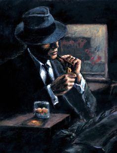 Siyah Şapkalı Adam Tablosu - KARAHAN ÇERÇEVE & RESİM , Canvas Baskı Ve Kabartmalı Tablo Mağazası