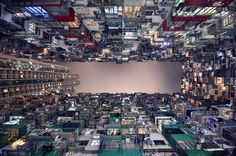Quarry bay - Photographer Romain Jacquet-Lagrèze captures Hong Kong's soaring heights in his new book, Vertical Horizon. It's a Hong Kong photography project featuring Hong Kong architecture Vertical Horizon, Vertical City, Hong Kong Building, Photo Ciel, Hongkong, New Perspective, Photo Projects, Urban Landscape, Photomontage