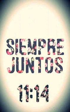 #Siempre juntos ♥
