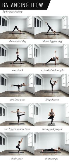 Balancing Flow Yoga Sequence