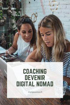 Bénéficie d'un accompagnement personnalisé pour devenir digital nomad. On fait le point sur ton parcours, tes compétences, tes envies, tes points de blocage pour te rendre indépendant en 6 mois !