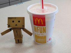 danboard loves a Strawberry MacShake