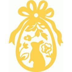 Silhouette Design Store - View Design #123587: mr. easter bunny box