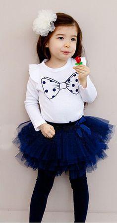 True Blue lace tutu dress with bow and leggings to match  http://veeandjade.com/shop/blue-tutu-dress-girls/