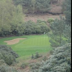 View from 3rd hole dukes course Woburn golf club