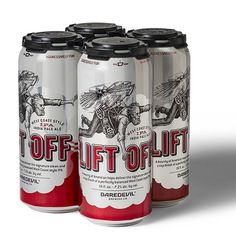 Daredevil Brewing Liftoff Cans
