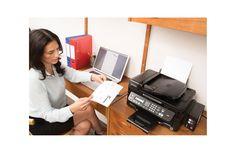 Epson L555 - Print i to år uden at skifte blæk. Blækprintere er billige i indkøb, men kan være dyre i drift. Nu lokker Epson alle os, der er bekymrede