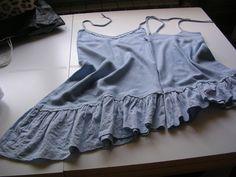 Un vestito diviso...per due nipotine!