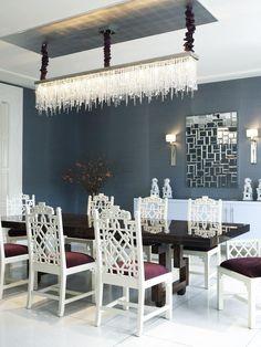 Modern Dining Room Design Photo By Jamie Herzlinger Interiors Al Glamour