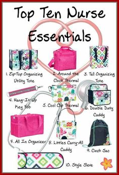 Thirty-One, Thirty-One Gifts, Spring and summer 2017, Nurse ideas www.mythirtyone.com/Midkiff