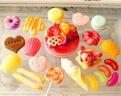 Candy Phone Cases, Clay Art, Creema, Miniatures, Sweets, Deco, Desserts, Collection, Food