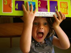 Pure joy and excitement counting down to the first day of school!