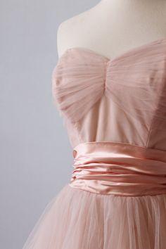 Vintage 1950s Dress / Prom Dress / Formal by TheVintageMistress