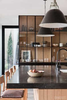 #kitchen | Just the AFTER // Client Black Houses are the Best Houses – Amber Interiors