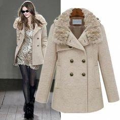 2013 winter women's clothing women's wool coat women's warm outwear