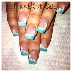 Snow Beauty - Nail Art Gallery