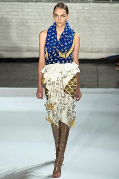 Vogue's Guide to Spring 2013 Fashion  New Bohemian: Altuzarra
