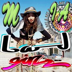M.I.A 'Bad Girls' single cover