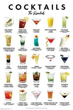 Cocktail Drinks, Cocktail Recipes, Alcoholic Drinks, Cocktail List, Beverages, Beach Cocktails, Wine Cocktails, Alcohol Drink Recipes, Halloween Drinks